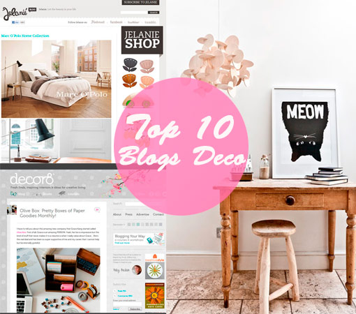 Top ten blogs de decoración