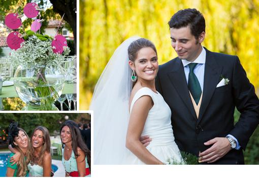 Descubre todos los detalles de esta boda madrileña