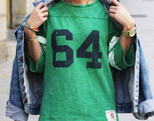 Del GYM a la calle, cómo llevar la camiseta de moda