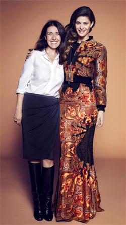 Olga Ruiz e Isabeli Fontana - TELVA