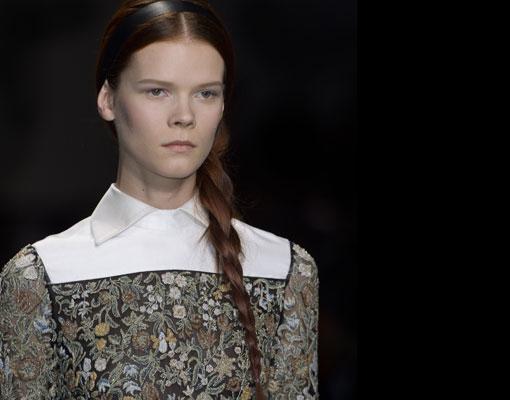 Se llevan las prendas que imitan bordados y tapicería