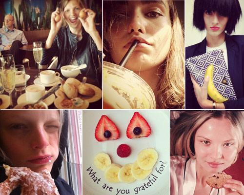 Los desayunos de las tops en Instagram