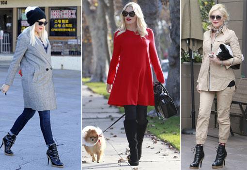 ¡No te pierdas los mejores looks premamá de Gwen Stefani!