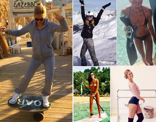 15 celebrities, 15 formas de adelgazar sin pisar el gimnasio