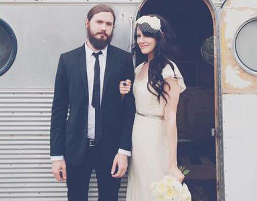 ¿Sueñas con una boda hipster? ¡Inspírate! Foto: Bleubird.com