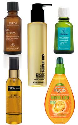 Todo sobre los aceites para el pelo