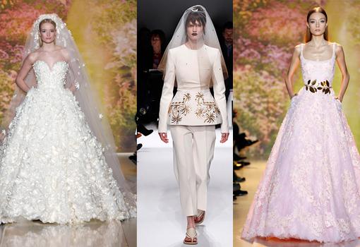 vestidos de alta costura para novias | telva