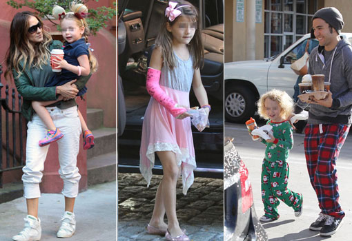 Hijos de celebrities mal vestidos