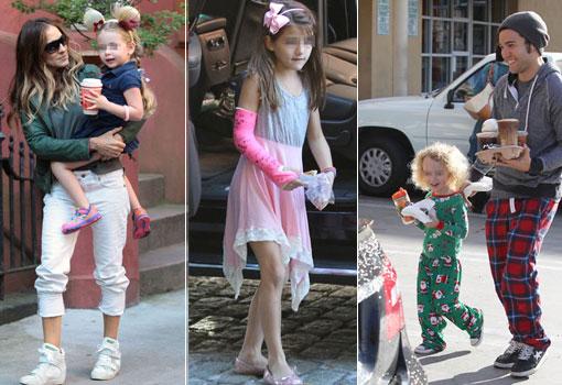 Hijos de celebrities mal vestidos