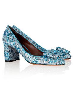 zapatos de tacón midi