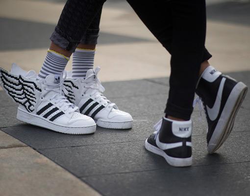 Se llevan las zapatillas