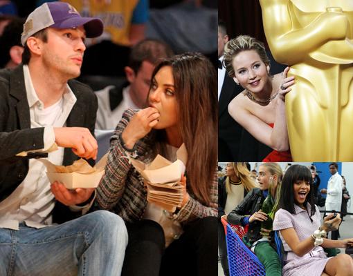 ¿En qué estaban pensando las celebrities?