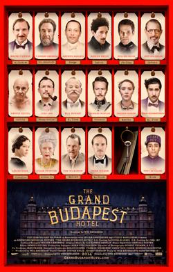 Cartel alternativo de El Gran Hotel Budapest