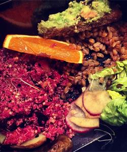 Andreea Diaconu y sus recetas con quinoa