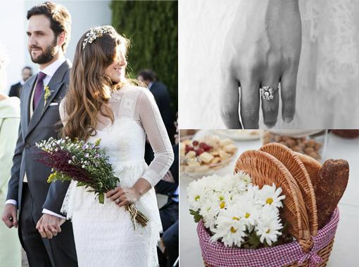 La boda con estilo de Angélica y Dani