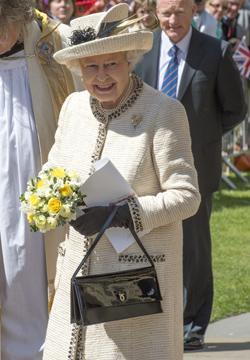 Isabel II de Inglaterra.