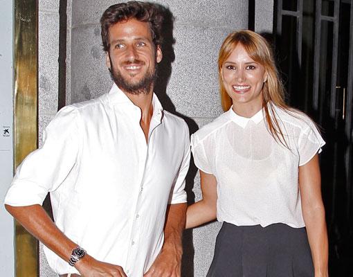 Alba Carrillo y Feliciano López
