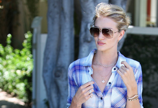 Rosie Huntington.