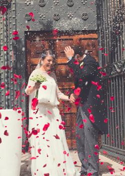 La boda con estilo de... Cristina y Miguel Ángel