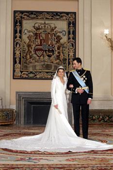 Muere Pertegaz, el diseñador del vestido de novia de la Reina Doña Letizia