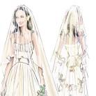 El vestido de novia de Angelina Jolie, ¡al descubierto!
