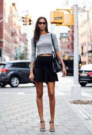 Look de street style en Nueva York.
