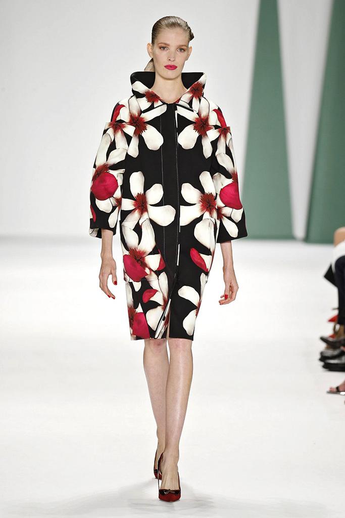 53b28f32a2 New York Fashion Week Carolina Herrera primavera-verano 2015 | TELVA