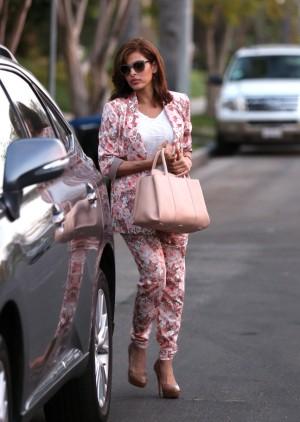 Eva Mendes en Los Ángeles.