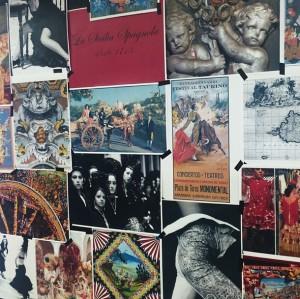 Mood board inspiración de la última colección de Dolce & Gabbana