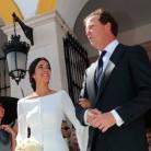 La boda de África Serra Domecq e Iván Bohórquez Domecq