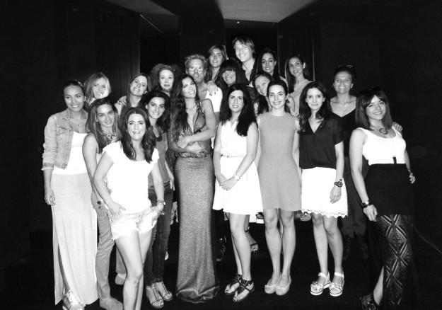 Foto grupal alumnas del Máster.