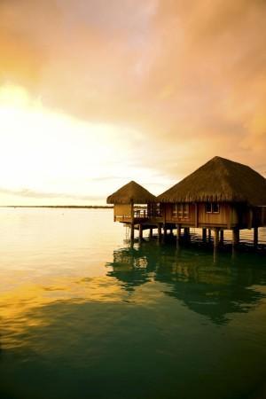 Over Water en Taití