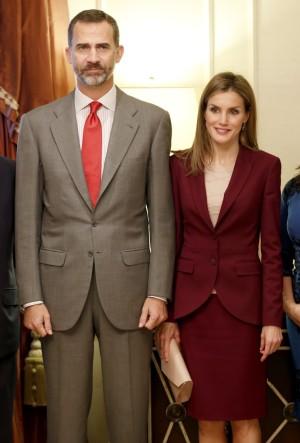 Los Reyes Felipe y Letizia en su primer día de agenda oficial en Nueva York.