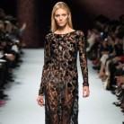 El encaje negro, la tendencia it para los vestidos de fiesta