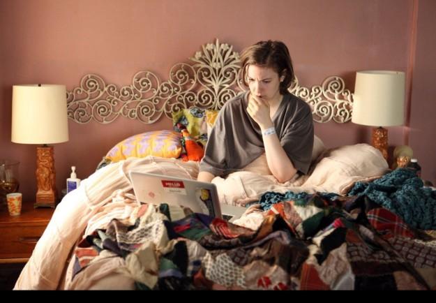 En el cuarto de Lena Dunham