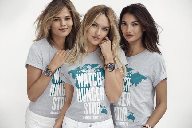 Campaña Watch Hunger Stop de Michael Kors