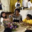 Michelle Obama, a ritmo de rap, lucha por la alimentación saludable