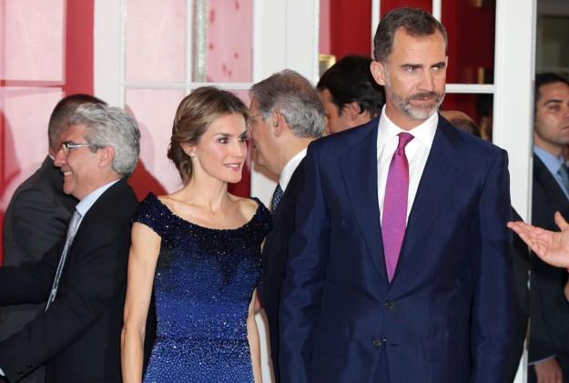 Los Reyes Don Felipe y Doña Letizia