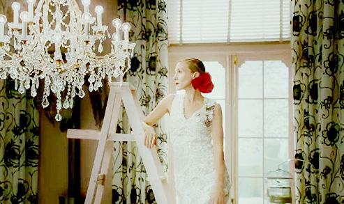 Sarah Jessica Parker de novia.