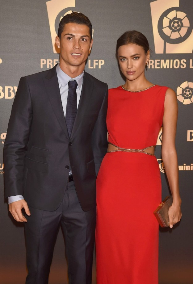 Cristiano Ronaldo y su actual pareja, Irina Shayk.