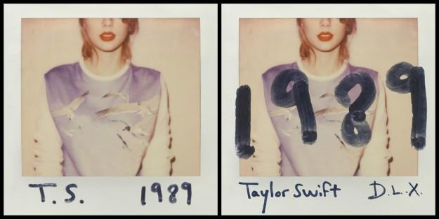 Portada del 1989, el nuevo disco de Taylor Swift.