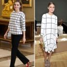 La Reina Letizia se inspira en Olivia Palermo