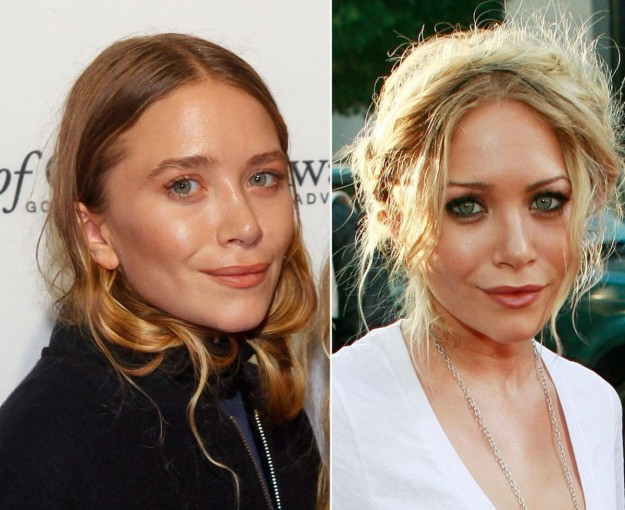 Mary Kate Olsen luce nueva cara