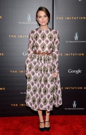 Keira Knightley de Dolce & Gabbana