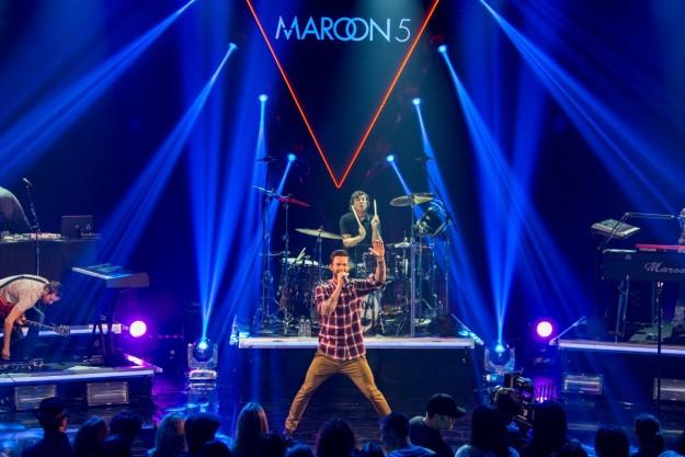 Maroon 5 en concierto.