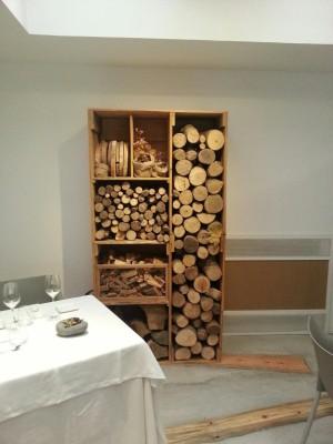 Interior del restaurante Montia.