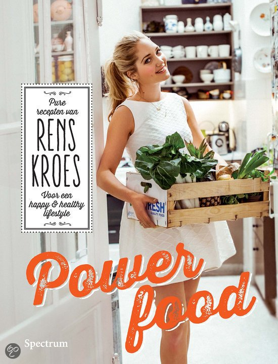 Portada del libro Power Food, de Rens Kroes.