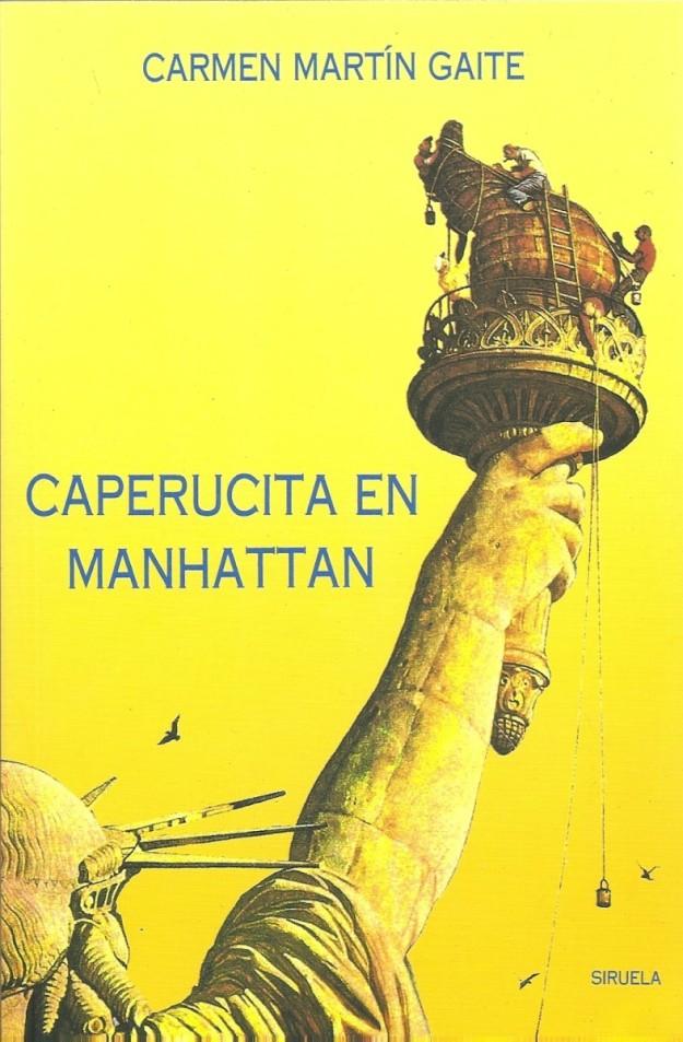 Portada de Caperucita en Manhattan.