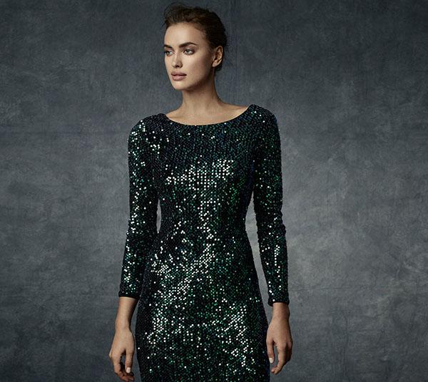 Irina Shayk presenta la nueva colección fiesta. Colección Night'14.