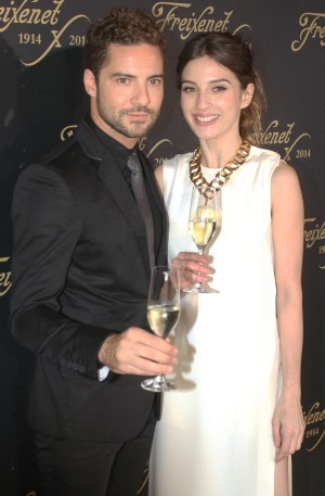 María Valverde y David Bisbal.